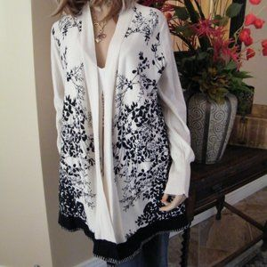 NWT Anthropologie Open Cardigan Knit Sweater XL